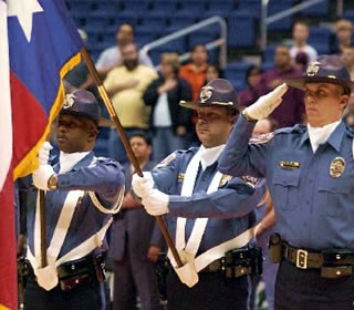 UTSA police officers