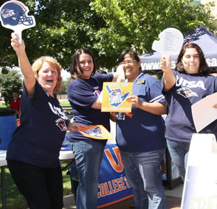 UTSA Downtown Campus rally