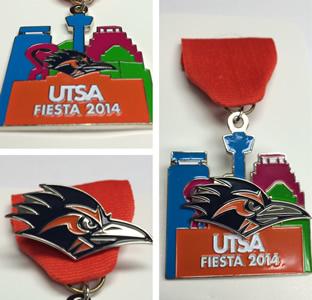 UTSA Fiesta medal