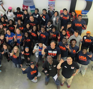 UTSA volunteers