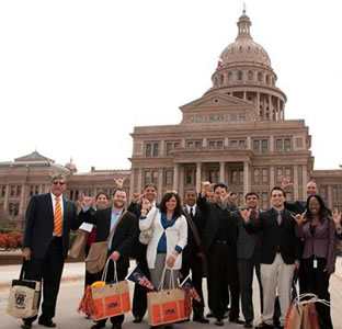 visit to Texas Capitol
