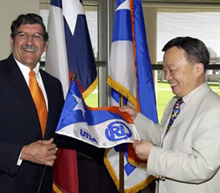 Ricardo Romo and Richard Liu