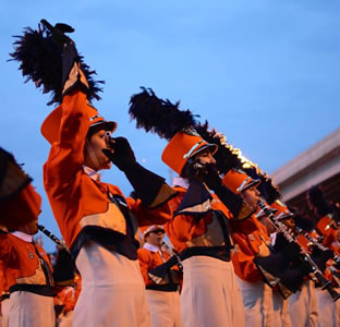UTSA marching band