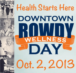 Rowdy Wellness Day, Downtown Campus