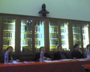 Jeffrey Halley at Sorbonne