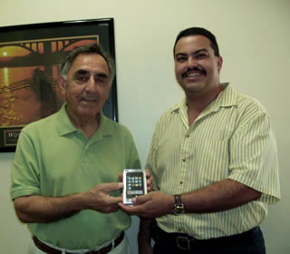 iPod winner