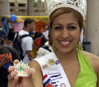 fiesta san antonio abigail garcia bottom miss fiesta shows off a
