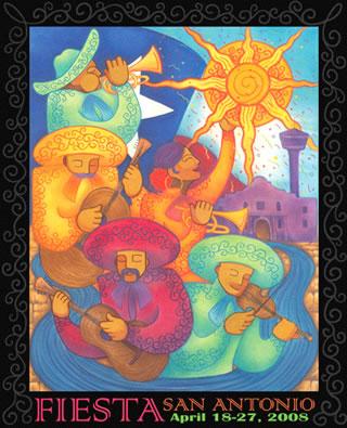 2008 Fiesta poster