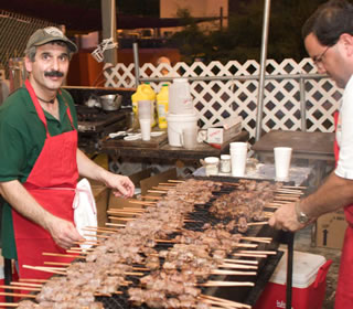 kebab booth