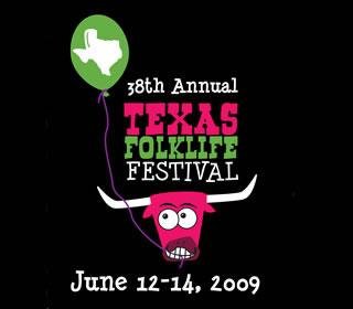 Texas Folklife Festival poster