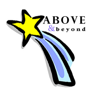 above and beyond graphic