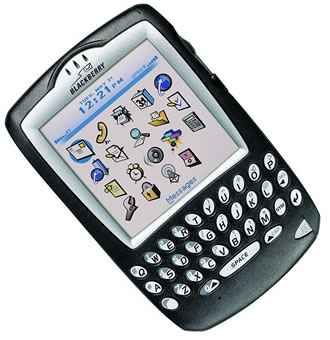 BlackBerry PDA