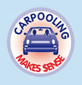 car pool graphic