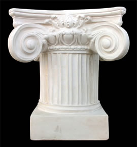 Greek ionic column