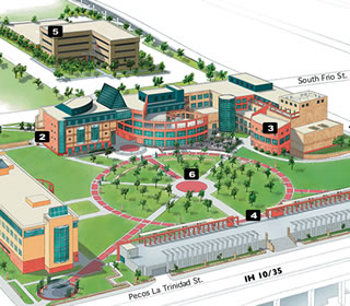 Utsa Downtown Campus Map New UTSA campus maps are available to order now Utsa Downtown Campus Map