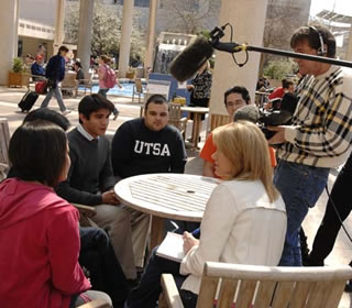 students interviewed