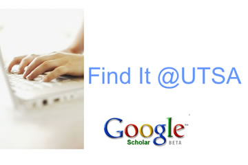 Google Scholar search engine