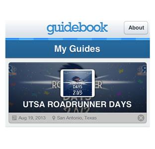 Guidebook app