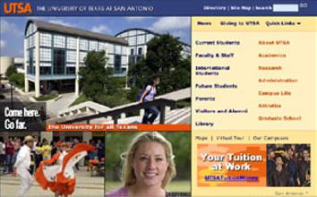 UTSA home page