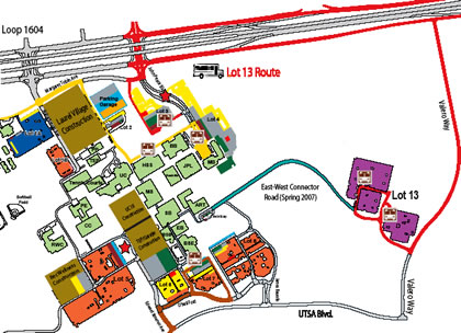 lot 13 shuttle map