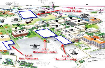 1604 Campus map