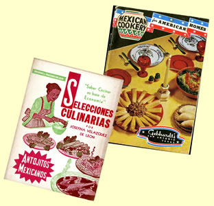 Mexican cookbook covers