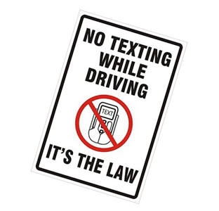 texting ban graphic