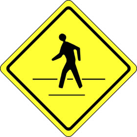 crosswalk sign
