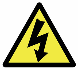 power outage sign