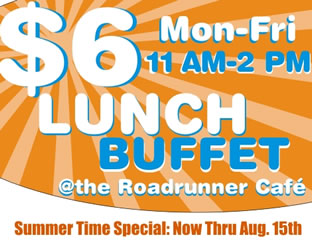 lunch buffet special