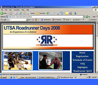 Roadrunner Days Web site