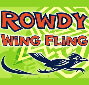 Rowdy Wing Fling graphic
