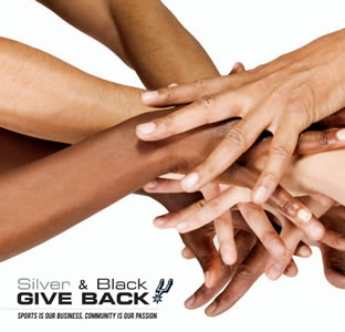Silver and Black Give Back