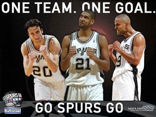 Spurs team members