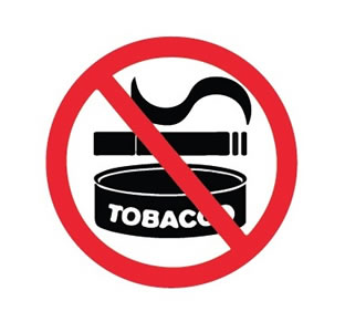 tobacco-free graphic
