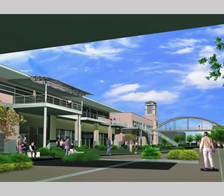 rendering of new University Center