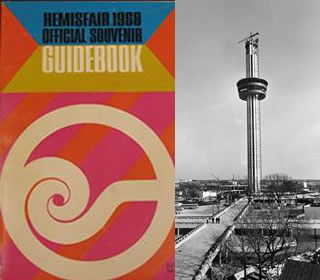 guidebook and tower