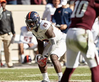 Jordan Moore is the first Roadrunner to be announced as a new member of an NFL club this spring