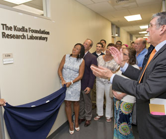 College of Business Dedicates Laboratory in Honor of Alumni Nancy and Frank Kudla