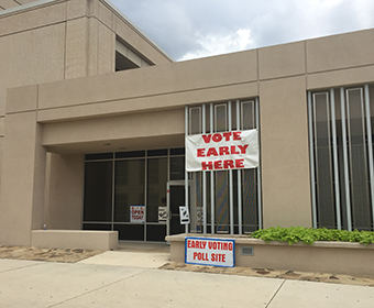 Registered Bexar County voters can cast ballots at UTSA May 30-June 3 and June 5 and 6.