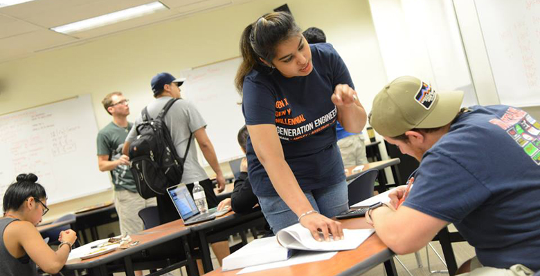 UTSA photo of the day: Fostering student success