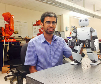 UTSA professor receives grant to create more versatile legged robots