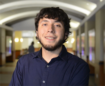 Commencement Spotlight: Rolando Garza wants to make an impact with medical research