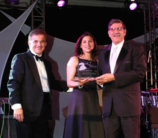Aguila Award presentation
