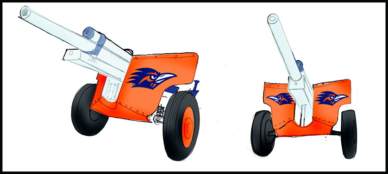 Roadrunners lead effort to bring Rowdy Cannon to UTSA events