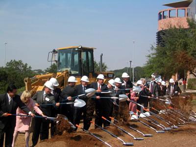Biotechnology, Sciences and Engineering Building groundbreaking