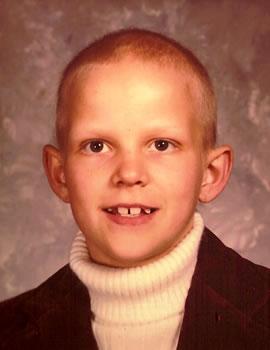 Barry McKinney, age 8