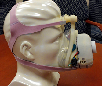 UTSA researchers develop smaller, portable sleep apnea machine
