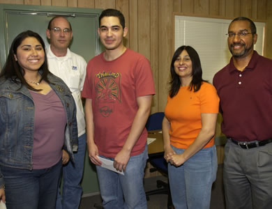 Inventory Department staff members