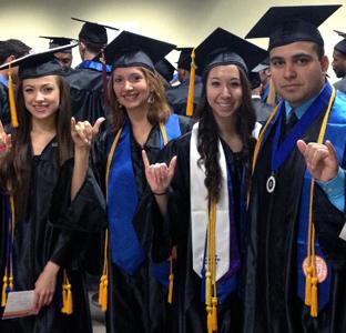 UTSA graduates